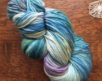 Hand Dyed Yarn   Love Song   Sport Weight Merino Wool/Nylon yarn, 274 yards