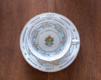 1967 Centennial of Canadian Confederation Teacup And Saucer