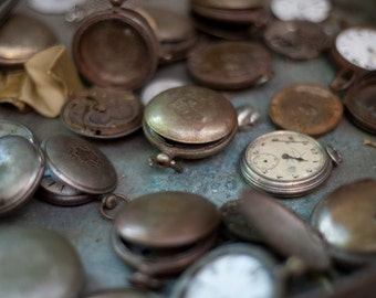 Photo Note Card / Pocket Watches
