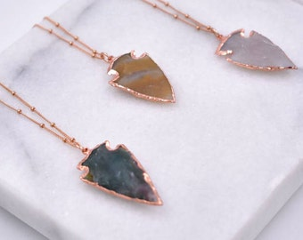 ARROWS NECKLACE /// Rose Gold