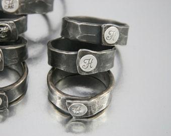 Monogram Napkin Rings