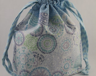 Shawl Sac Drawstring Project Bag