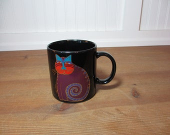 Laurel Burch Mythical Cat Mug