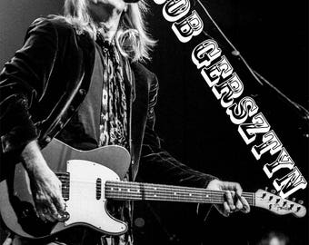 Limited Edition Fine Art Print of Tom Petty 2002