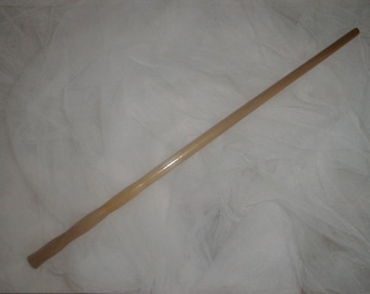 """14"""" Magical Yellow Poplar Wand *Long & Slender* Protection Rebirth Change *Practitioners of Magick*"""