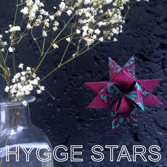 Custom Set of 4 Hygge Danish Stars