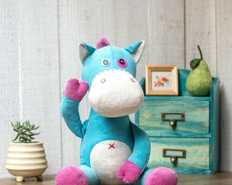 Stuffed Horse - PDF Sewing patterns & Tutorials |Stuffed animal| Stuffed pony | fabric toys | instant download | Softies