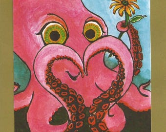 Love You Octopus