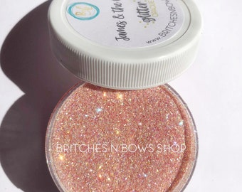 James & the Giant *|| High Quality Polyester Glitter, 1oz by Weight, TRANSLUCENT
