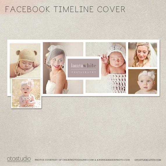 Collage de fotos de plantilla de portada de facebook timeline