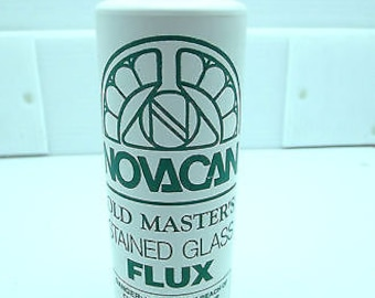 8 Ounces Old Masters Stained Glass Flux Liquid  Supplies