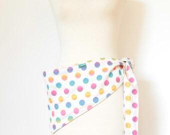 Polka Dots Rainbow Fanny Pack Waist Bag Belly Bag Adjustable Fanny Pack Hip Bag Waist Pouch Hip Pouch Fanny Packs