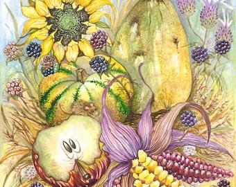 Harvest - Hotpress Giclee Print