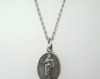 Saint Rose of Lima Medal Necklace
