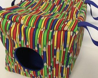 Comfy Cube Rat Ferret Hammock Small Pet Colored Pencil Bedding