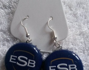 ESB Bottle Cap Earrings