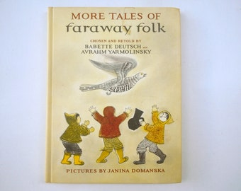 More Tales of Faraway Folk Janina Domanska Russian Folk Tales