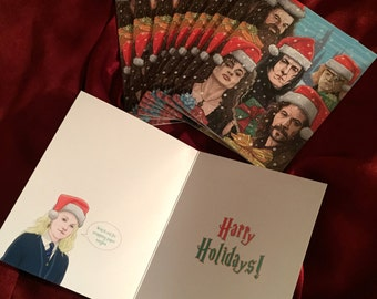 HARRY POTTER 10 Pack Christmas CARDS!