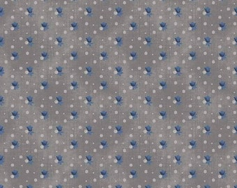 EXTRA 20 30% OFF  Emily Hayes for Penny Rose Something Blue Floral Gray