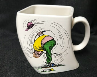 Vintqge Golf Mug by Golf Gifts