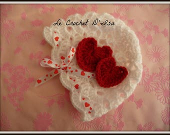 LITTLE HEARTS VALENTINE BABY HAT 2