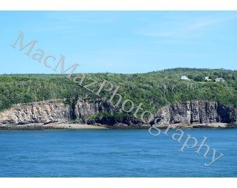 Cliffs in New Brunswick