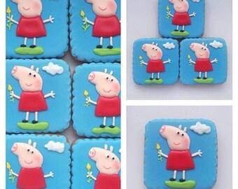 cookies peppa pig