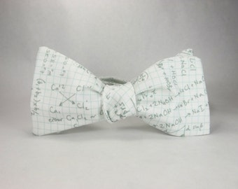Math bowtie, Graph paper math, teacher bowtie, math teacher gift, mathematician bowtie, equations bowtie, geometry bowtie, mens bowtie