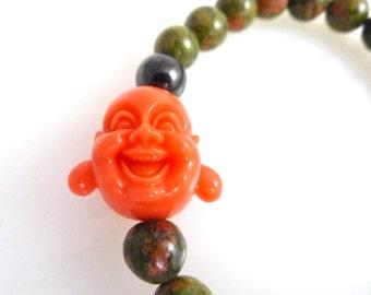 Beaded Buddha Bracelet, Yoga Bracelet, Meditation Bracelet, Zen Jewelry, Spiritual Jewelry Protection Jewelry Bracelets for Women Yoga Gifts