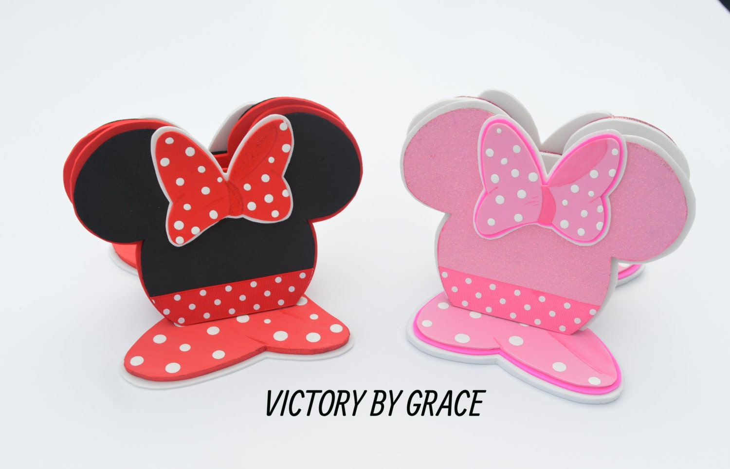 Minnie Mouse Napkin Holder OR Mickey Mouse Napkin Holder