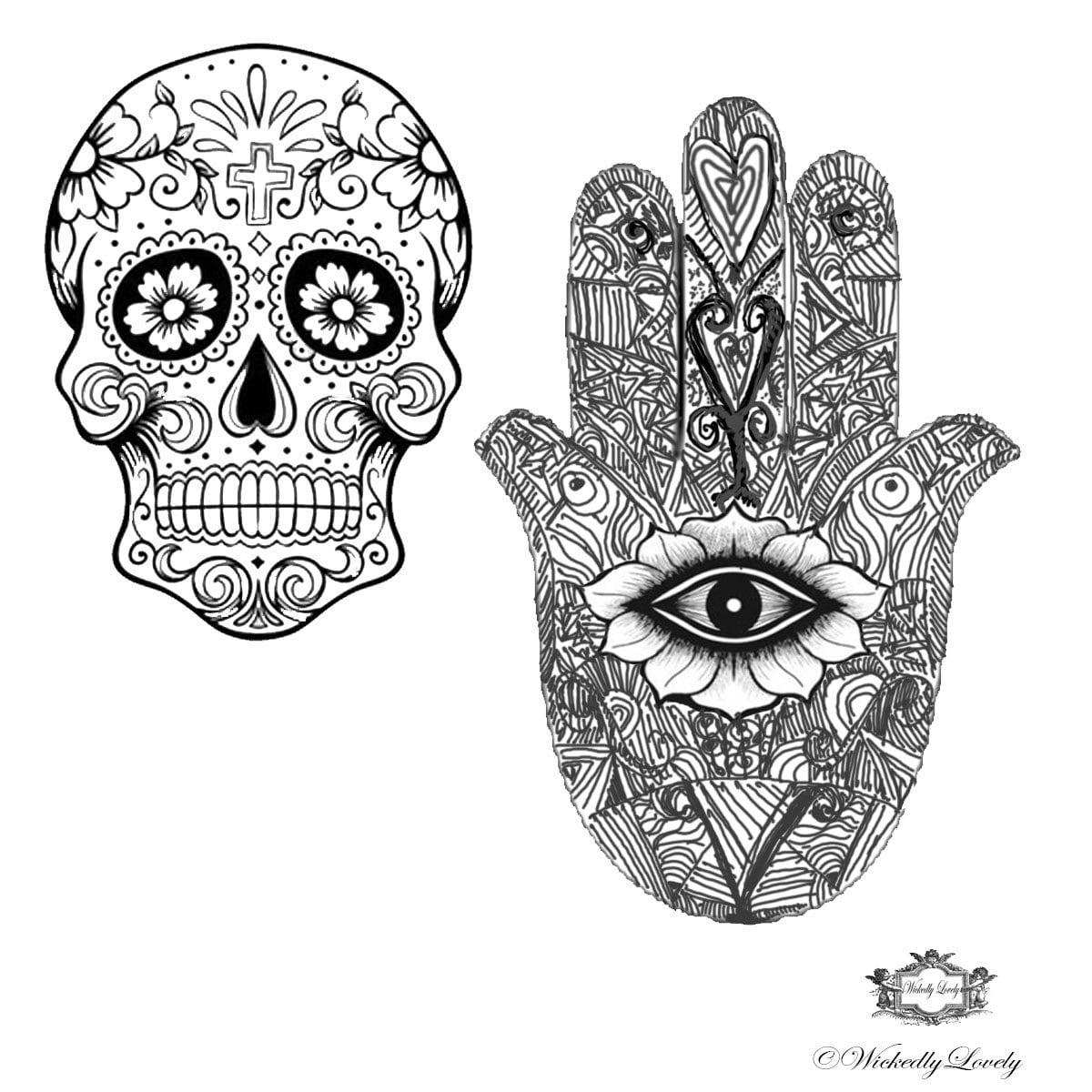 Hamsa Tumblr Tatuaje T