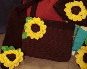 Meredith's Sunflower  HAT ONLY