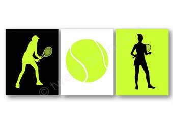 Tennis Art Prints, Tennis Player Gift, Girl's Tennis Art, Personalized Tennis Gift, Custom Tennis Wall Art, Tennis Canvas, Tennis Coach Gift