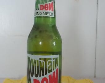 Vintage Mountain Dew Longneck