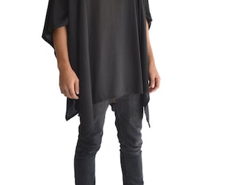 Hooded Pancho Tee