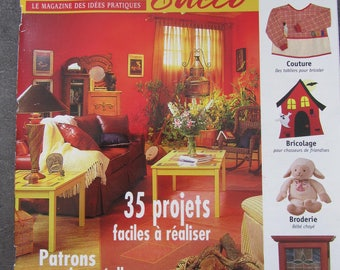 "Magazine ""Creation and decoration""-old dated 2004 - 35 projects easy"