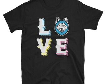 Siberian Husky Love, Siberian Husky Shirt, Husky Shirt, Siberian Husky Lover, Husky Lover, Siberian Husky Gift, Husky Gift, Husky Mom, Husky
