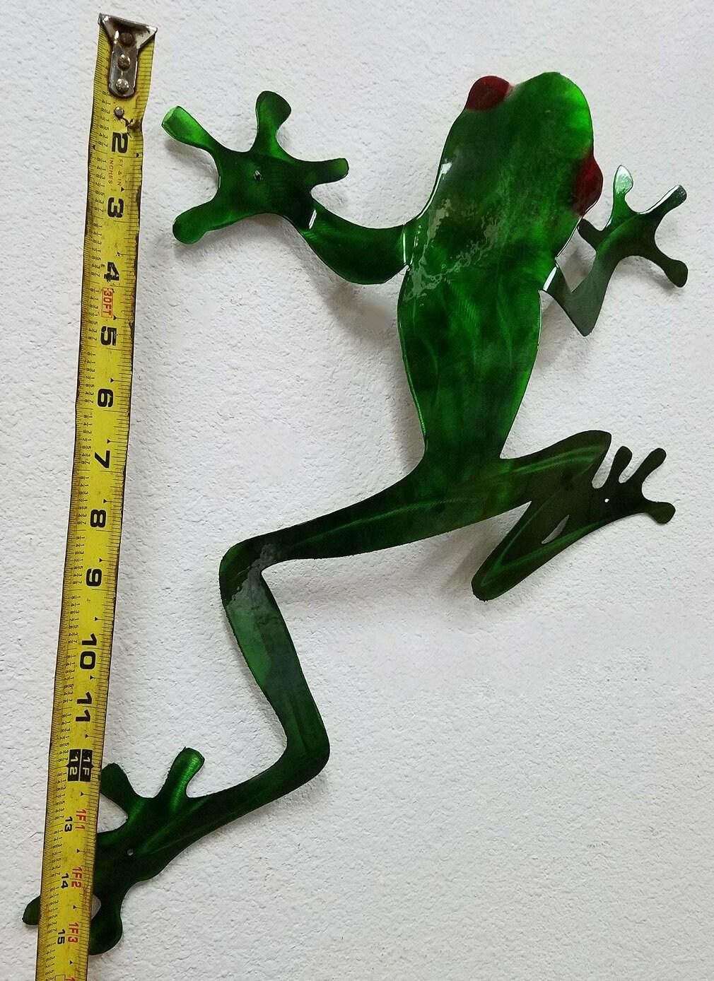 Favorite Tree Frog Wall Art, Tree Frog Metal Art, Stainless Steel Wall  TJ88