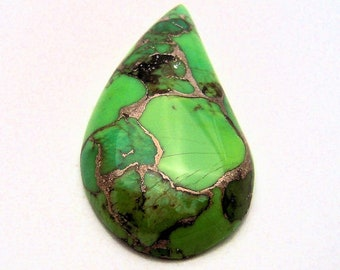 Sharp Mohave Turquoise cabochon