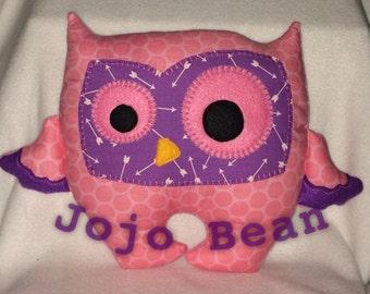 Owl Cuddle Monster