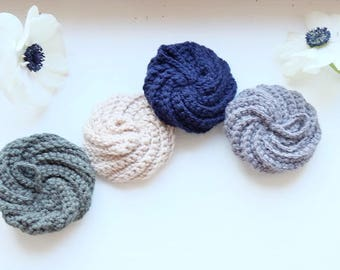 Sponge washable eco tawashi wool recycled zero waste