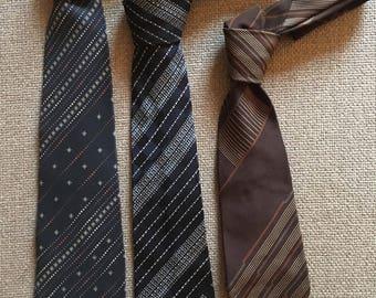 Lanvin ties, vintage Lanvin ties, cravatte vintage Lanvin, cravatte anni 80, Lanvin Paris, Lanvin silk ties, cravatte seta lanvin,