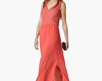 Tulum Dress - Coral - Summer Dress - Bridesmaid Dress
