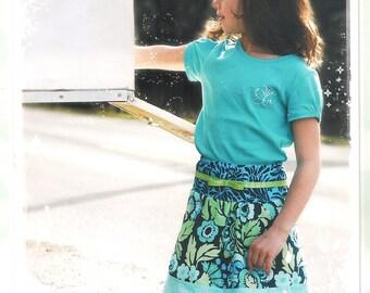 Pattern - Little Belle Skirts Paper Sewing Pattern by Favorite Little Things