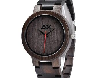 FREE ENGRAVING, Mens Wood Watch, Wooden Watch, Wooden Watch for Men, Gift for Him, Wood Watch for men, Wood Watch, Wedding Gift, Mens Watch
