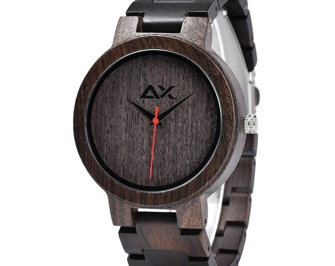 Featured listing image: FREE ENGRAVING, Mens Wood Watch, Wooden Watch, Wooden Watch for Men, Gift for Him, Wood Watch for men, Wood Watch, Wedding Gift, Mens Watch