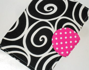 Kindle Paperwhite Cover Nook Tablet Case all sizes Misti Girl Hot Pink Dot eReader Book Cover