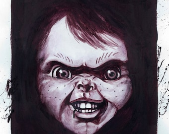Chucky Plakmounted Poster