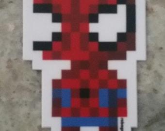 """2"""" Diecut Spidery Sticker"""