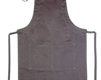 Ebru Marbling - Art Apron with Strap